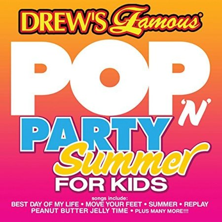 Drew's Famous Halloween Party Music Cd (Drew's Famous - Pop 'n Party Summer For Kids)