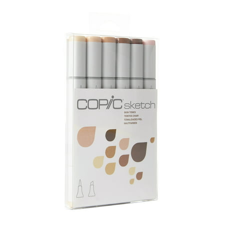 Copic Sketch (Copic® Sketch Marker Set, Skin Tones )