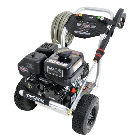 Simpson ALH3225-S 3,200 PSI 2 5 GPM Gas Pressure Washer Powered by KOHLER