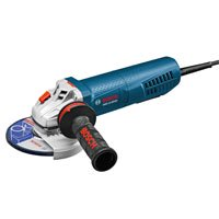 """BOSCH GWS13-50VSP 5"""" Variable-Speed Angle Grinder with Paddle Switch and Dust"""