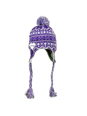 ae074689ecd Product Image Kentucky State Purple White Peruvian Knit Beanie Womens  Tassel Winter Ear Flap