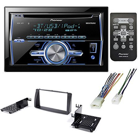 CAR AFTERMARKET STEREO CD PLAYER RECEIVER + DASH KIT INSTALLATION + WIRE HARNESS FOR TOYOTA COROLLA