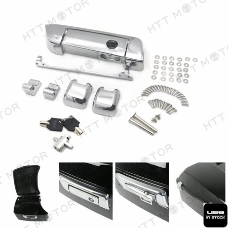 HTTMT- Tour Pak Pack Trunk Latches Key Fit Harley Davidson Touring Ultra-Classic