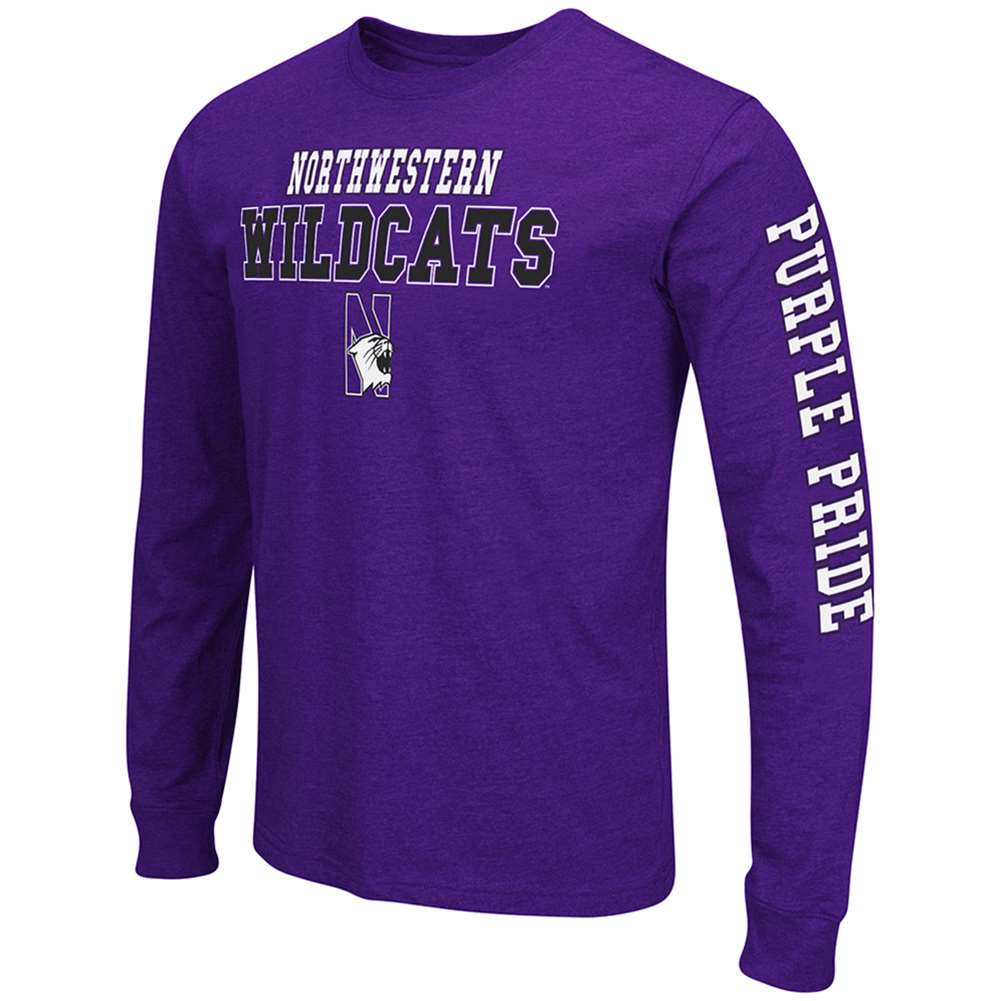 Northwestern Wildcats Game Changer Long Sleeve T-Shirt