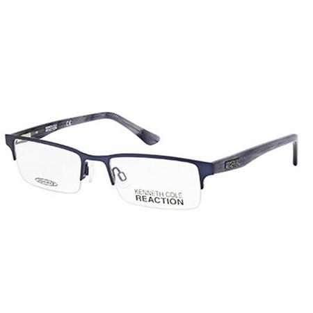 Kenneth Cole Reaction Men's KC0745 Frames BLUE 50