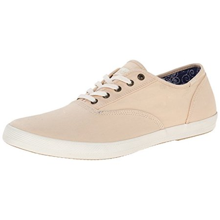 4e7cde3dd67f7 Keds Men's Champion Solid Army Twill Fashion Sneaker, Ivory Cream, 9 M US