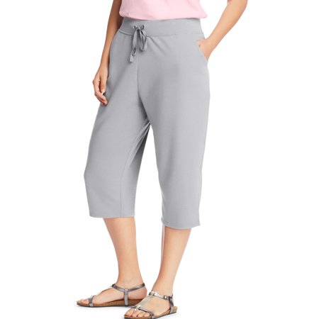 Women's plus-size french terry pocket capri - Womens Size 4x