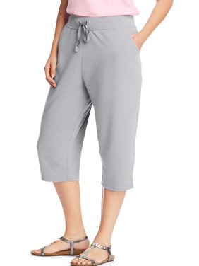03be00c12a5 Product Image Women s plus-size french terry pocket capri