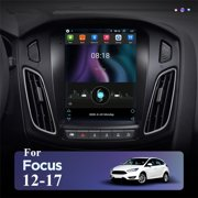 Car Stereo Radio For Ford Focus 2012-2017 Vertical 9.7'' Android 10.1 2+32GB GPS Wifi Bluetooth FM, Reverse Image Touch Screen Phone Mirror Link 2012 2013 2014 2015 2016 2017