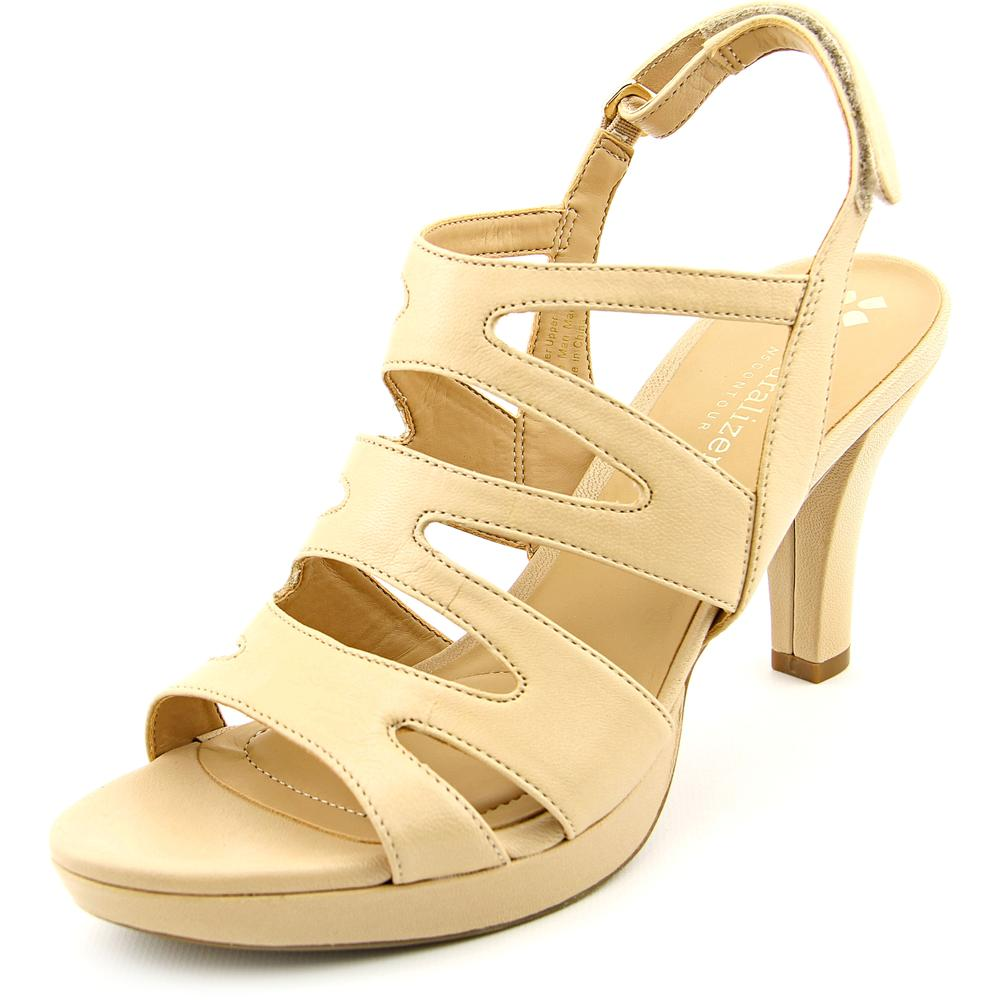 Naturalizer Pressley Women W Open Toe Leather Sandals by Naturalizer
