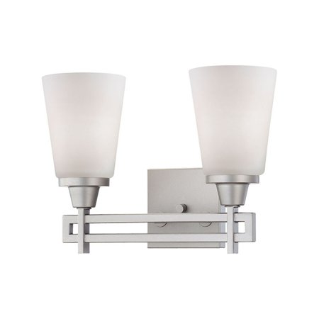 ELK Lighting Wright 2 Light Contemporary Bathroom Vanity Light Bracket Contemporary Bathroom Light