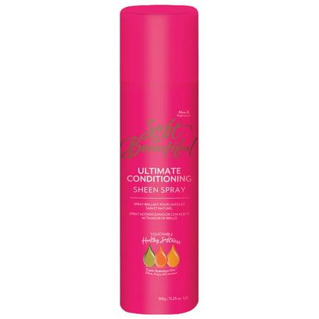 Beautiful Oil Sheen Spray - Soft & Beautiful Ultimate Conditioning Sheen Spray 11.25 oz. Aerosol Can