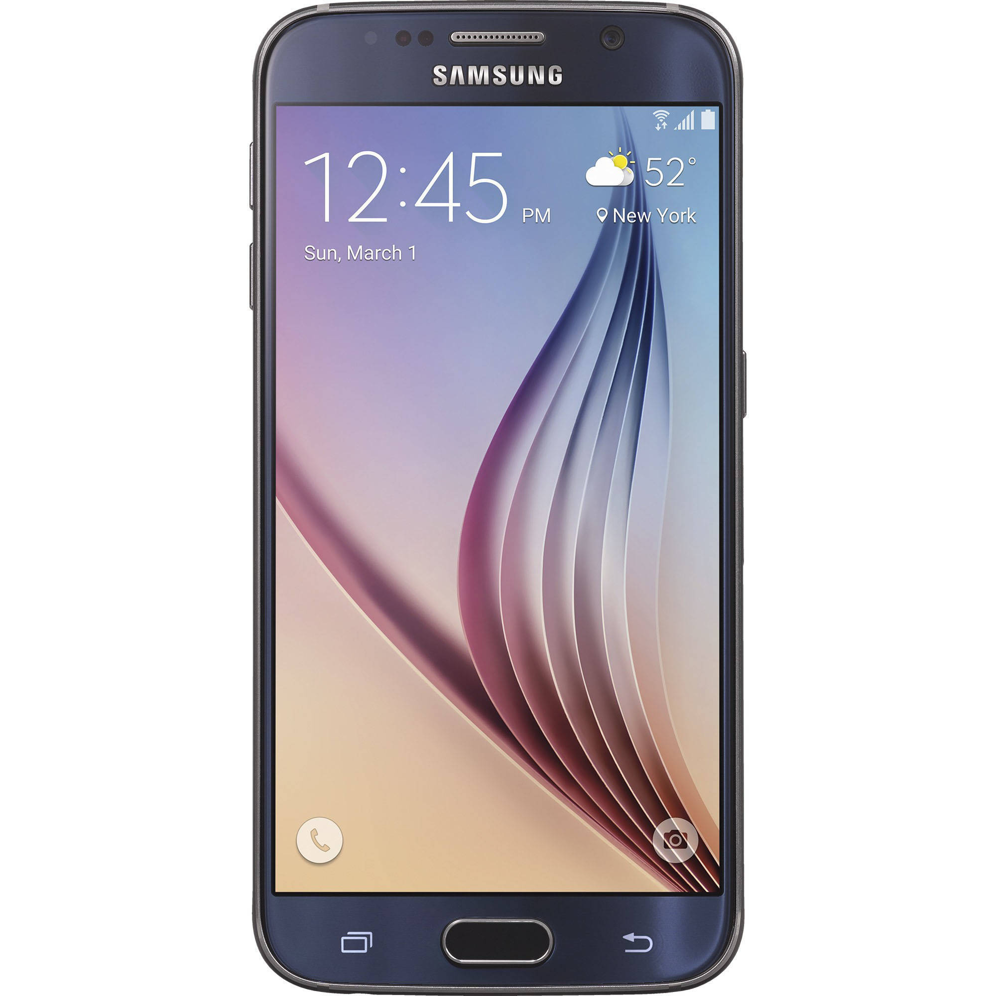 Straight Talk Samsung Galaxy S6 32GB Prepaid Smartphone, Blue