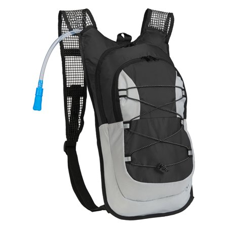 Equipped Outdoors Hydration Pack - 2 Liter Water Bladder with Extra Large Storage Compartment