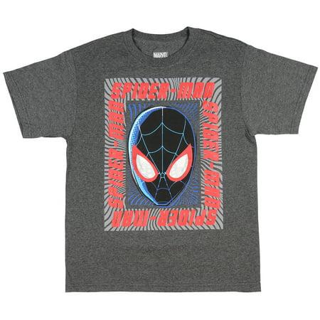 94b73f41 Marvel - Marvel Boys' Ultimate Spider-Man Miles Morales T-Shirt -  Walmart.com