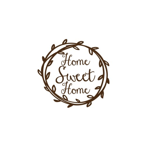 Decal House Home Sweet Home Wall Decal