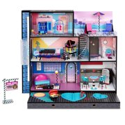 L.O.L. Surprise! O.M.G. House â Real Wood Doll House with 85+ Surprises