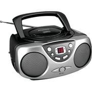 Sylvania SRCD243M Portable CD Boom Box with AM/FM Radio