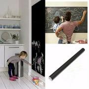Vinyl Chalkboard Blackboard Wall Sticker Self Adhesive Wall Paper Contact Paper Teaching Blackboard For School Office Home Modern 200 x 45/60cm