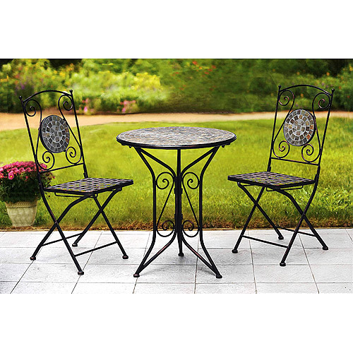 24u0027u0027 Table Top Mosaic Bistro Set