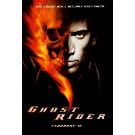 Ghost Rider  2007  27X40 Movie Poster