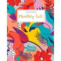 Financial Planner Budget Book: Monthly Bill Planner And Organizer: womens financial planner - 3 Year Calendar 2020-2022 - Budgeting Workbook Finance Monthly & Weekly Budget Planner Expense Tracker Bil