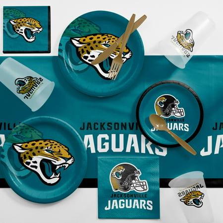 Jacksonville Jaguars Game Day Party Supplies Kit (Halloween Party Jacksonville Fl)