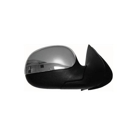 1998-2001 Ford F-150 Base Extended Cab Pickup 3-Door  Passenger Side Right Non-Signal Power Door Mirror Assembly F85Z17682FAA