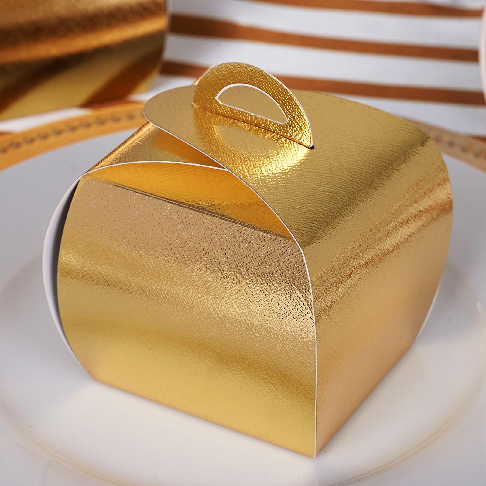 BalsaCircle 25 pcs CupCake Purse Wedding Favors Boxes - Wedding Party Candy Gifts Decorations Supplies