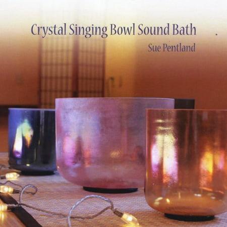 Crystal Singing Bowl Sound Bath (CD) (Singing Bowls Music)