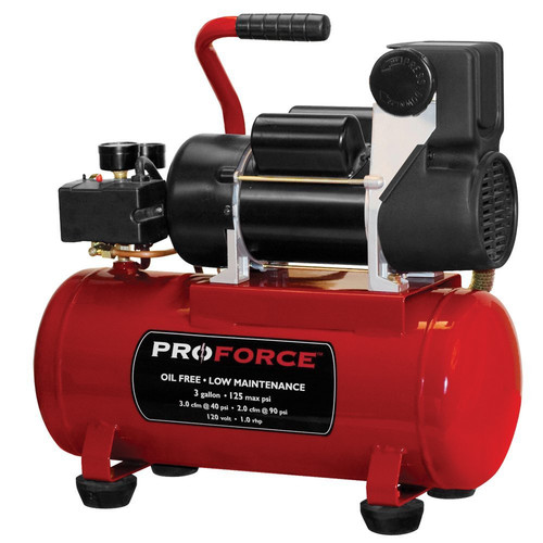 ProForce VPF1080318 3 Gallon Hot Dog Air Compressor
