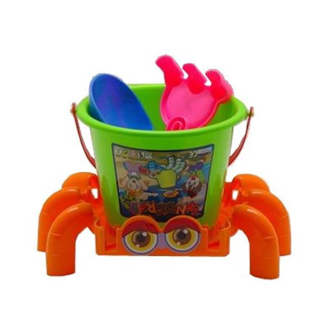Sunshine Trading BT-15 Crab Sand Toy - 4 Piece Set