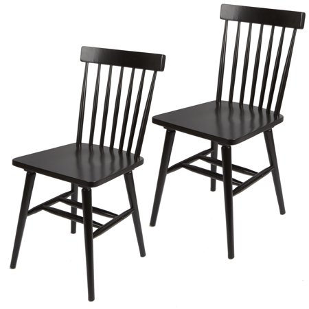 Better Homes & Gardens Gerald Dining Chairs Set of 2, Multiple Finishes - Maple Wood Finish Chair