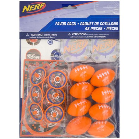 Nerf Party Favors, 48pc