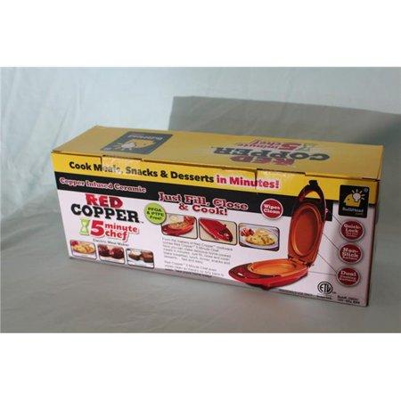 Telebrands 235552 Chef 5 minutes, cuivre rouge - image 1 de 1