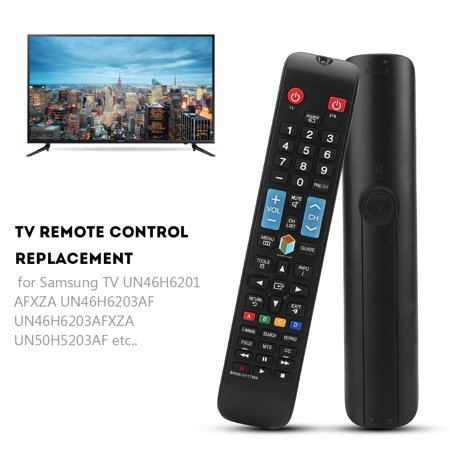 Ashata Remote Control Replacement for Samsung BN59-01178W UN46H6201AFXZA/ UN46H6203AF TV,remote control, remote control for Samsung UN46H6201AFXZA