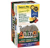 Animal Parade - Assorted Nature's Plus 90 Chewable