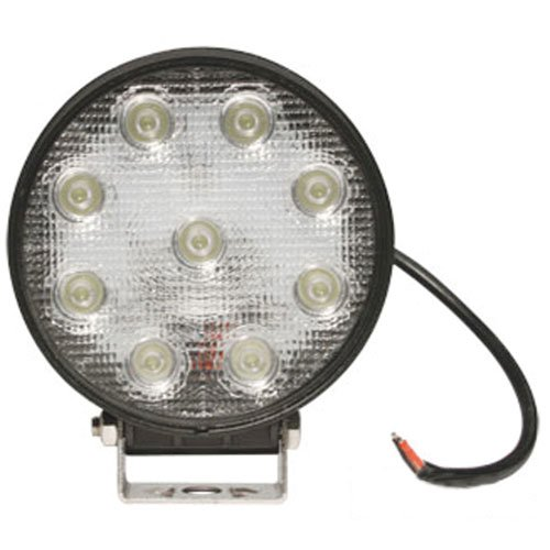 LED Work Light - 27W, Round, Trapezoid Beam