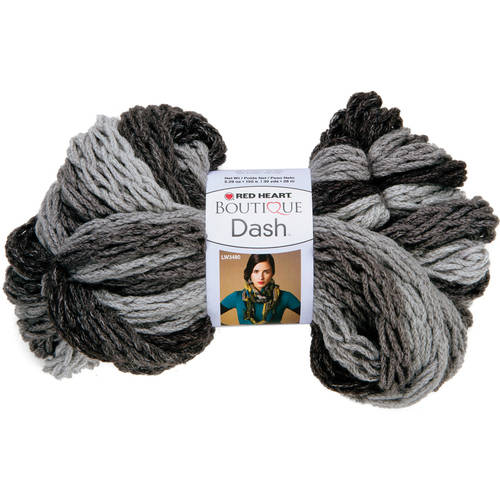 Red Heart Boutique Dash Yarn, Available in Multiple Colors