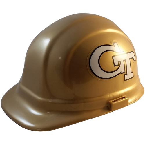 NCAA Georgia Tech Yellow Jackets Hard Hats with Ratchet Suspension