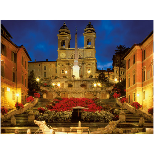Ravensburger The Spanish Steps In Rome 1500 Puzzle by Generic