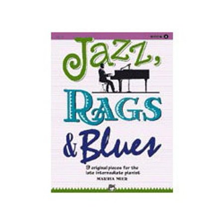 Alfred 00-18770 Jazz- Rags & Blues- Book 4 - Music Book ()