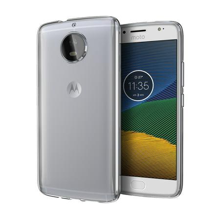Moto G5s Plus Gs5  Case  Cimo  Grip  Premium Slim Protective Cover For Motorola Moto G5s Plus Gs5    Clear