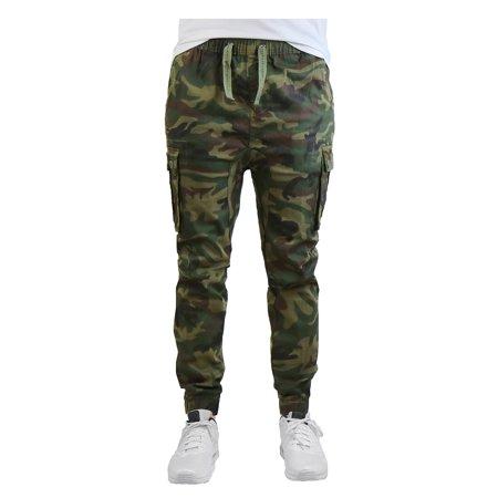 Men's Stretch Cargo Jogger Pants