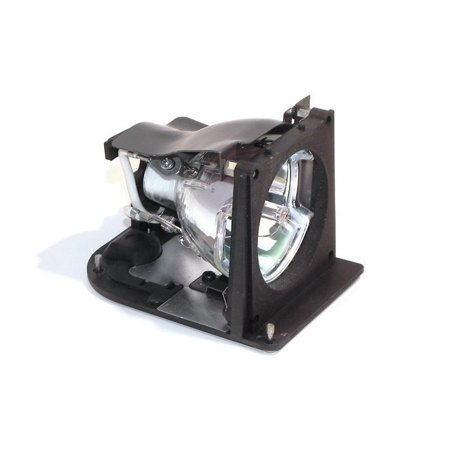 Dell 4100mp projector housing with genuine original oem for Lamp light on dell projector