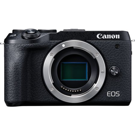 Canon EOS M6 Mark II 32.5 Megapixel Mirrorless Camera Body Only, Black