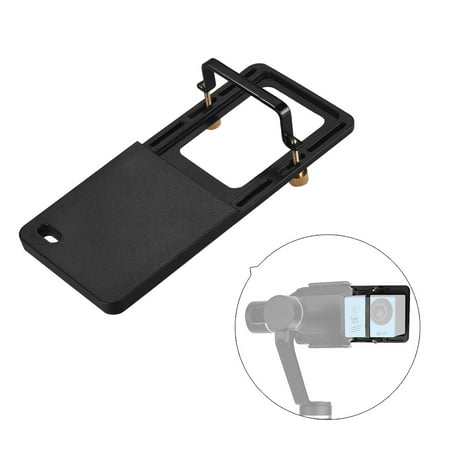 Sports Action Camera Adapter Mount Plate Handheld Gimble Stabilizer Clamp Plate for GoPro Hero 6/5/4/3+ for YI 4K SJCAM for DJI OSMO Mobile 2 Zhiyun Smooth 4 Feiyu SPG2