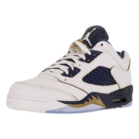 half off cefc9 a6dea AIR JORDAN 5 RETRO LOW Mens sneakers 819171-101 - Walmart.com