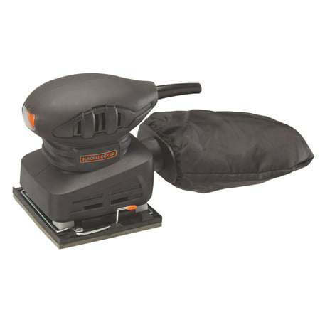 BLACK+DECKER 1.5-Amp 1/4 Sheet Sander, BDEQS15C