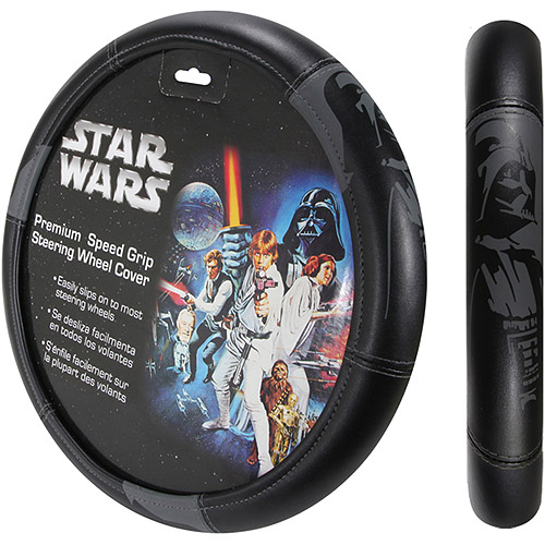 Plasticolor Darth Vader Steering Wheel Cover